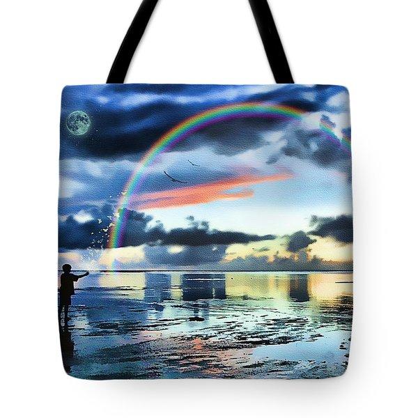 Butterfly Heaven Tote Bag by Tom Schmidt