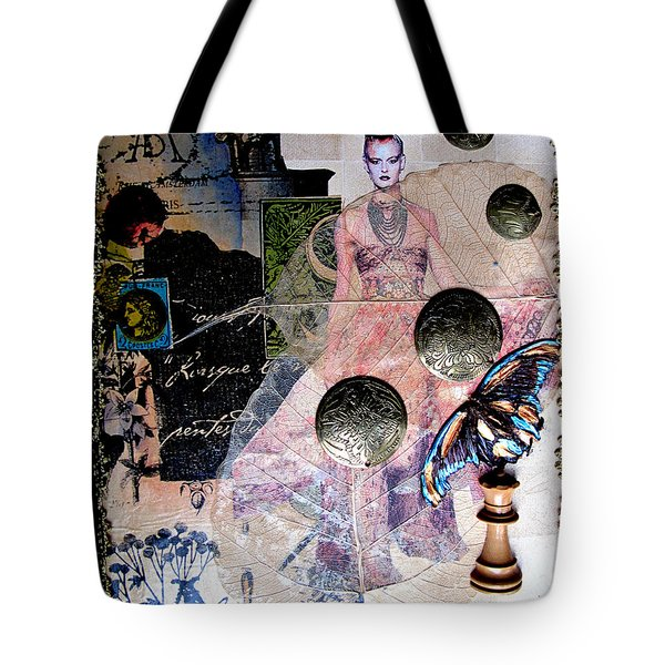 Butterfly Tote Bag by Sandy McIntire
