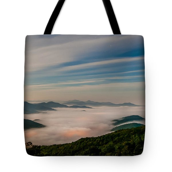 By The Light Of The Moon Tote Bag by Joye Ardyn Durham