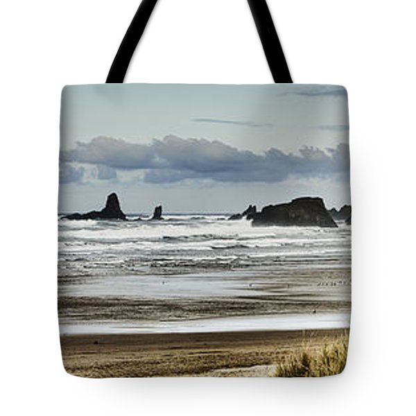 By The Sea - Seaside Oregon State  Tote Bag by James Heckt