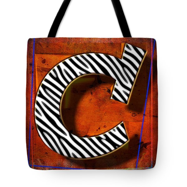 C Tote Bag by Mauro Celotti