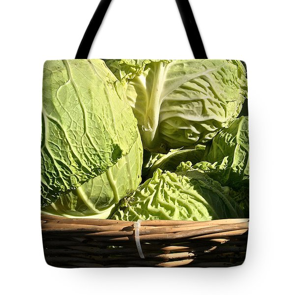 Cabbage Heads Tote Bag by Susan Herber