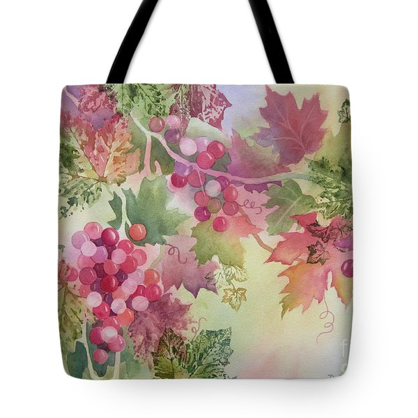 Cabernet Tote Bag by Deborah Ronglien