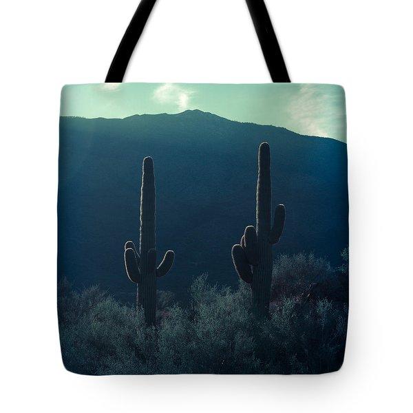 Cactus Polaroid Tote Bag by Scott Sawyer
