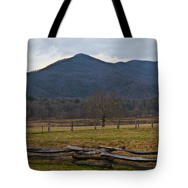 Cade's Cove - Smoky Mountain National Park Tote Bag by Christopher Gaston