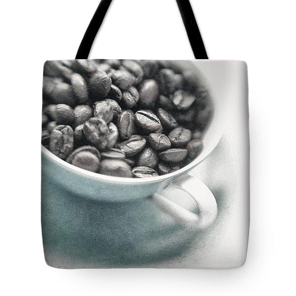 Caffeine Tote Bag by Priska Wettstein