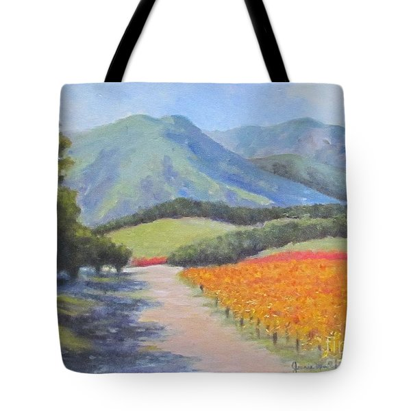 California Tote Bag by Jeanie Watson