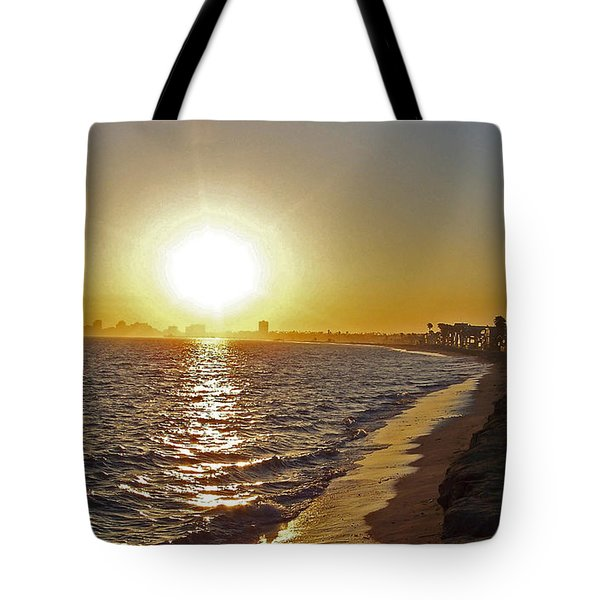 California Sunset Tote Bag by Ernie Echols