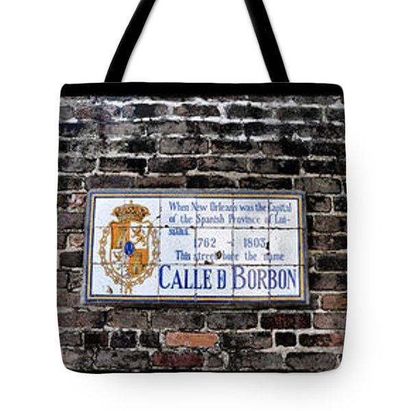 Calle D Borbon Tote Bag by Bill Cannon