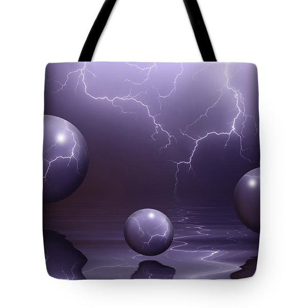 Calm Before The Storm Tote Bag by Shane Bechler
