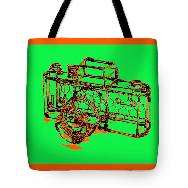 Camera 1c Tote Bag by Mauro Celotti