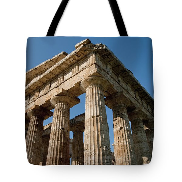 Campania Ruins Tote Bag by Axiom Photographic