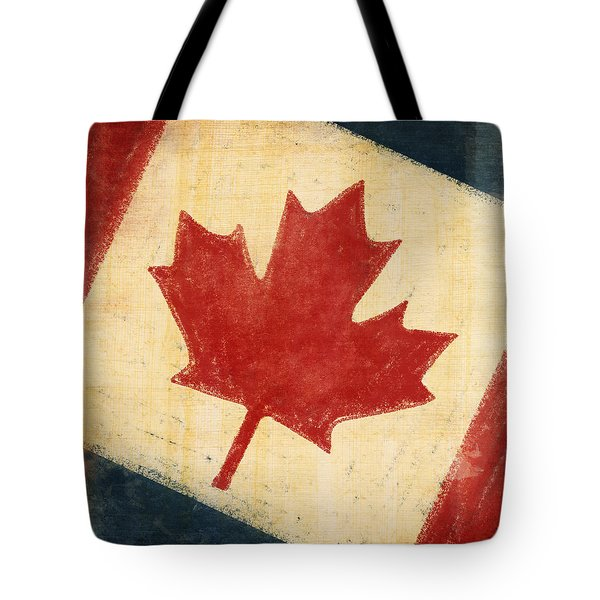 Canada Flag Tote Bag by Setsiri Silapasuwanchai