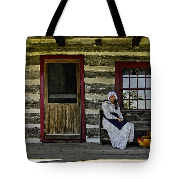 Canadian Gothic Tote Bag by Steve Harrington