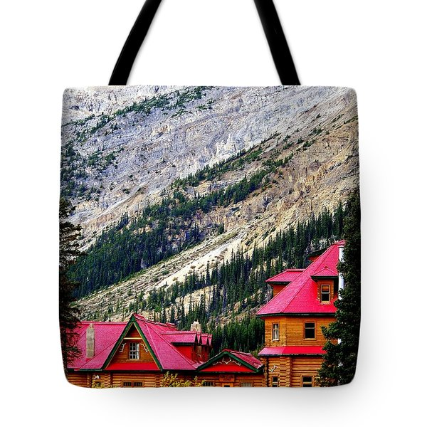 Canadian Red Tote Bag by KAREN WILES