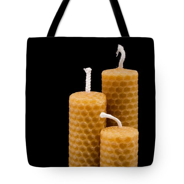 Candles Tote Bag by Tom Gowanlock