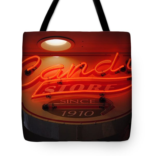 Candy Tote Bag by Skip Willits