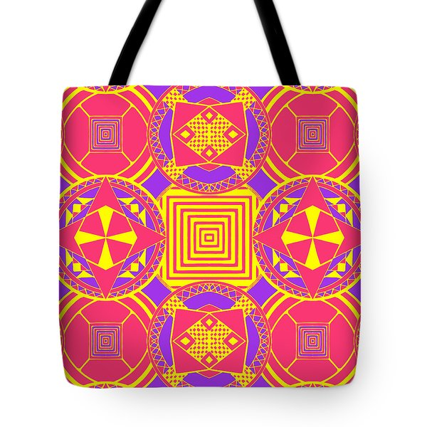 Candy Wrapper Tote Bag by Sumit Mehndiratta