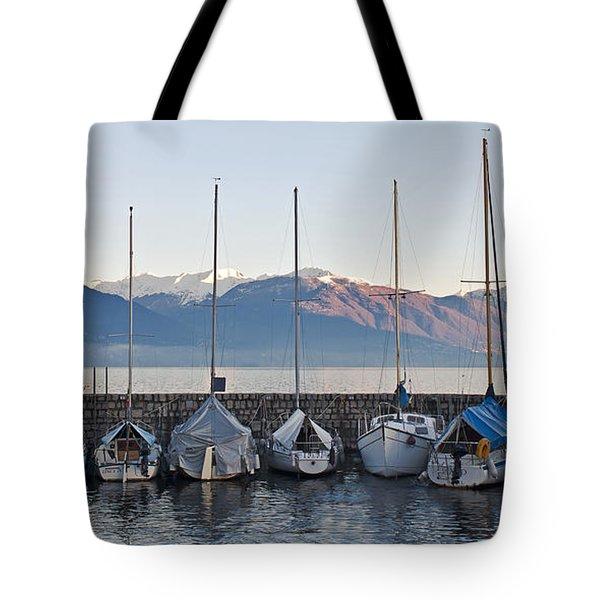 Cannobio - Italy Tote Bag by Joana Kruse