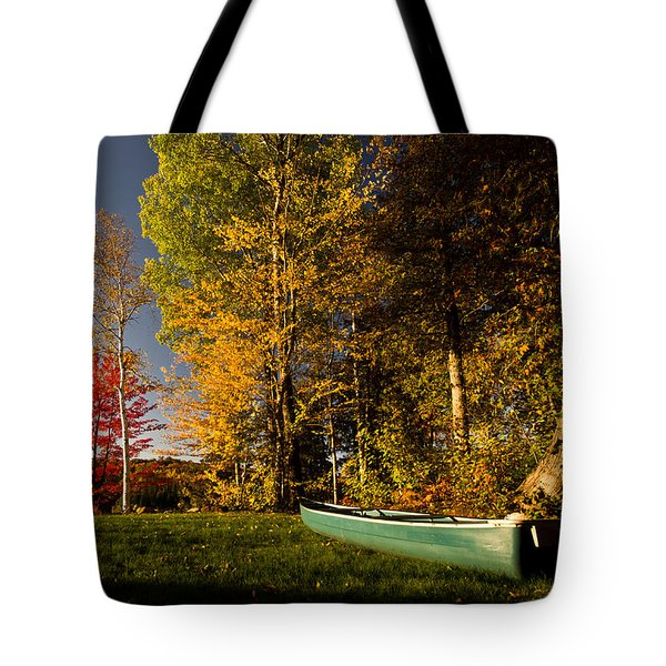 Canoe Tote Bag by Cale Best