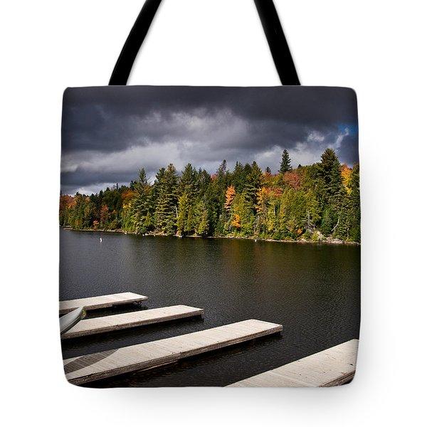 Canoe Lake Tote Bag by Cale Best