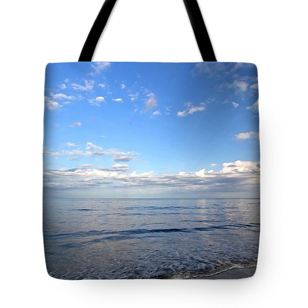 Cape Cod Summer Sky Tote Bag by Juergen Roth