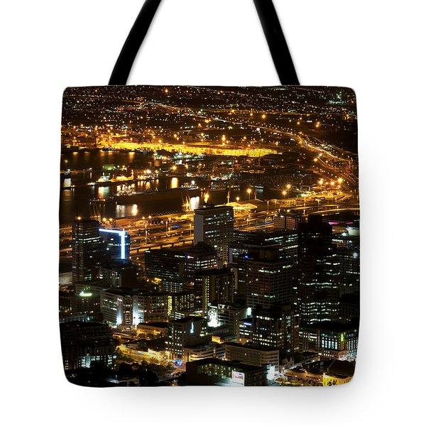 Cape Town Tote Bag by Fabrizio Troiani