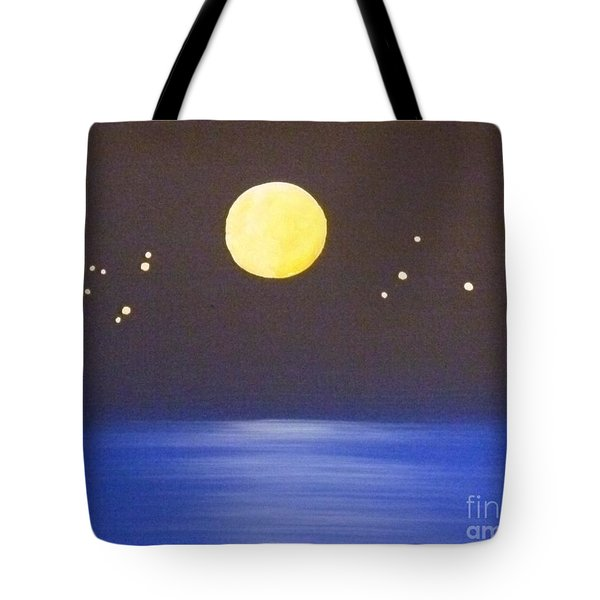 Capricorn and Libra Tote Bag by Alys Caviness-Gober