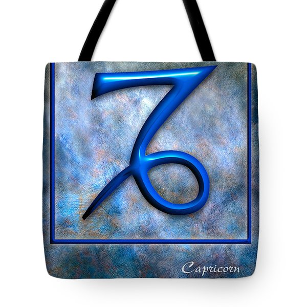 Capricorn  Tote Bag by Mauro Celotti
