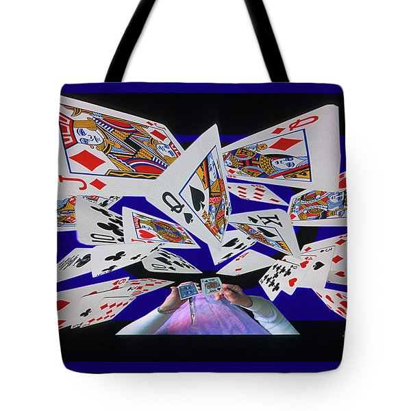 Card Tricks Tote Bag by Bob Christopher