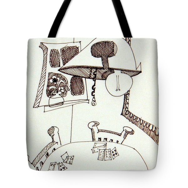 Cards Tote Bag by DENNY CASTO