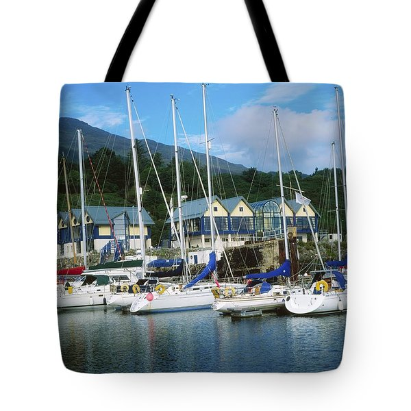 Carlingford Marina, Carlingford, County Tote Bag by The Irish Image Collection