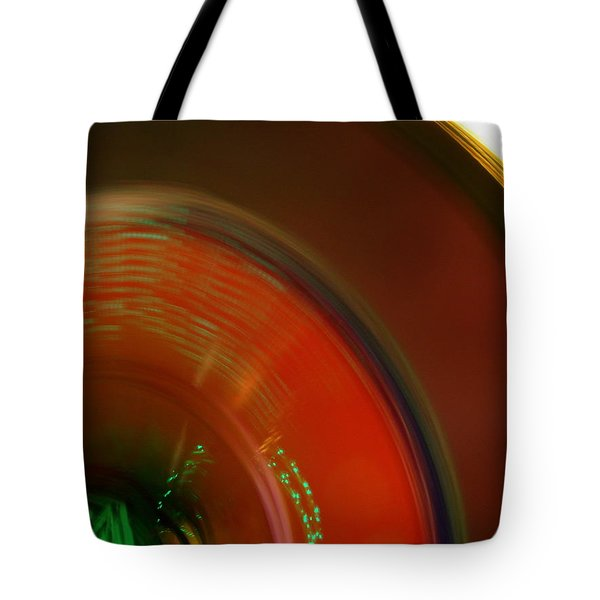 Carnival Lights Tote Bag by Michelle Calkins