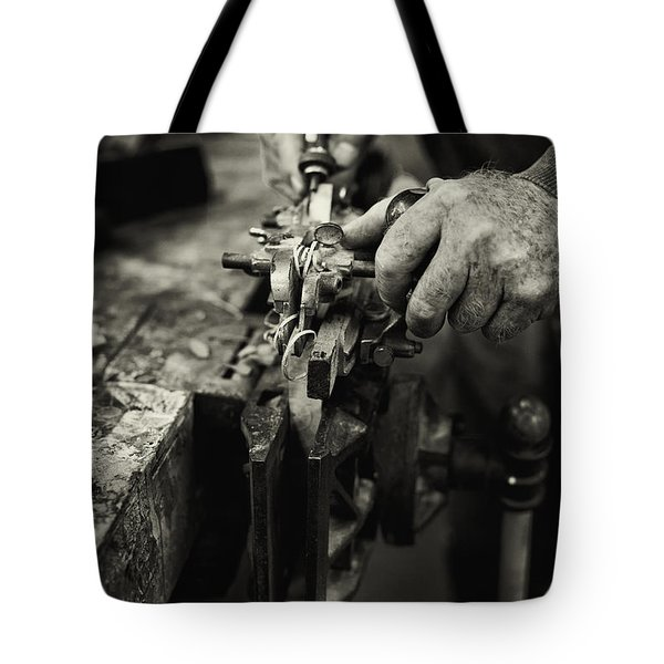 Carpenter l Tote Bag by Rob Travis