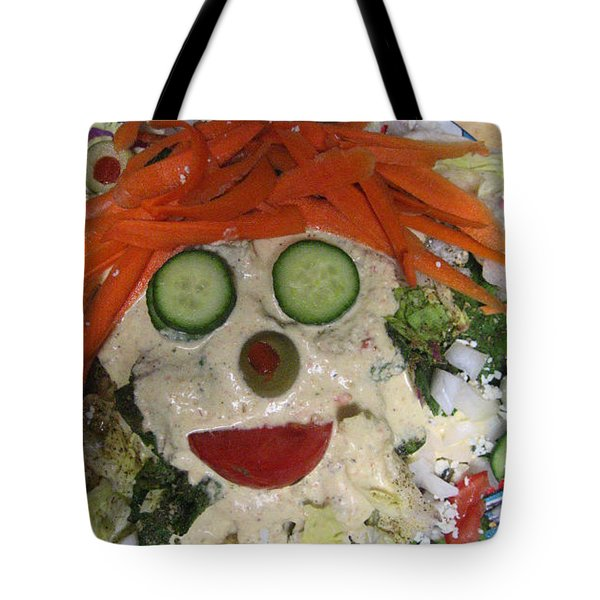 Carrot Top Tote Bag by Kym Backland