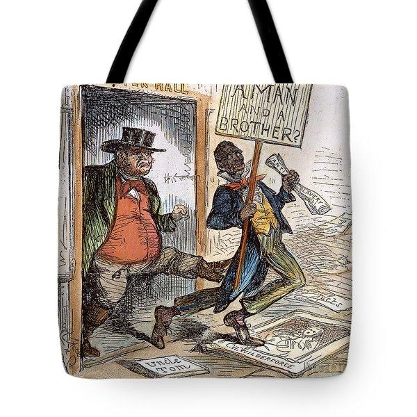 Cartoon: Slavery, 1861 Tote Bag by Granger