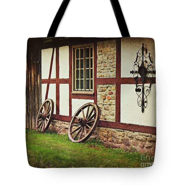 Cartwheels Tote Bag by Jutta Maria Pusl