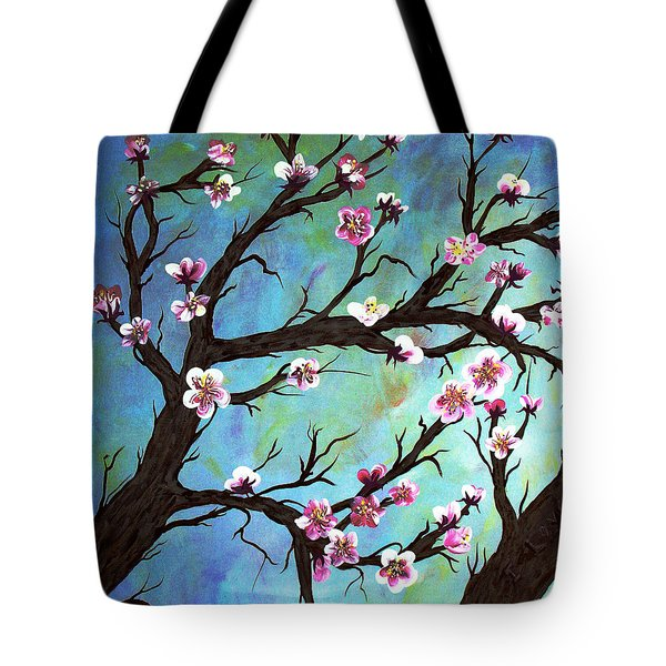 Carved In A Cherry Tree I Tote Bag by Barbara Griffin