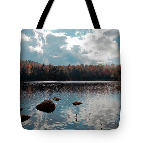 Cary Lake Tote Bag by David Patterson