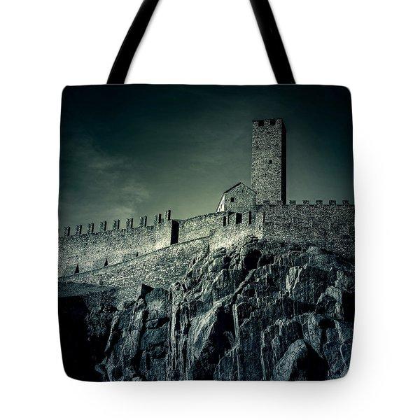 Castelgrande Bellinzona Tote Bag by Joana Kruse