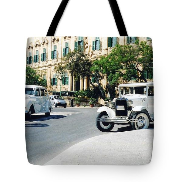 Castille Square Tote Bag by John Chatterley
