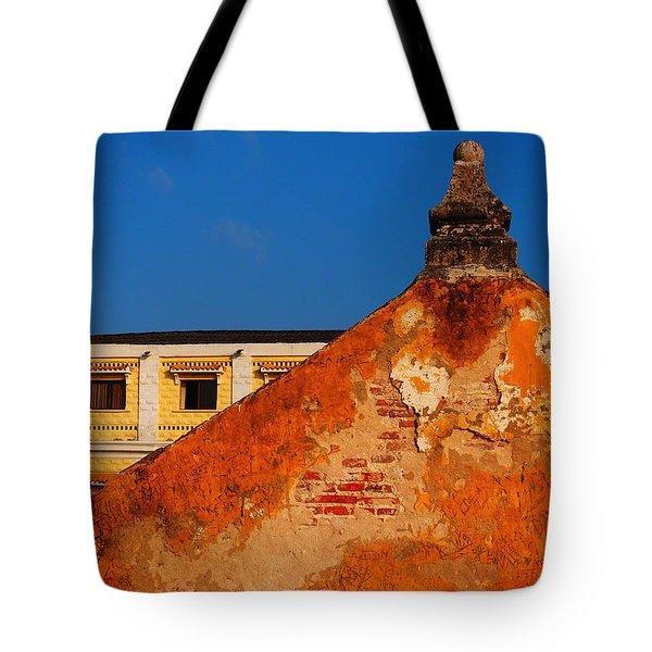 Castillo de Oro Tote Bag by Skip Hunt