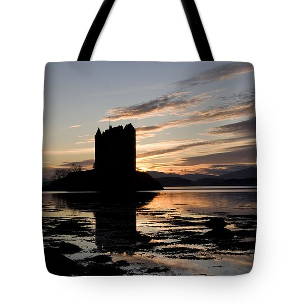 Castle Stalker Tote Bag by Pat Speirs