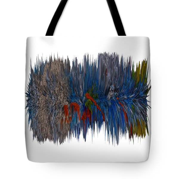 Cat Hair Ball Tote Bag by Robert Margetts
