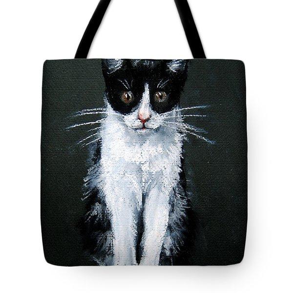 Cat I Tote Bag by Mona Edulesco