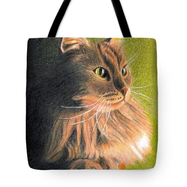 Cat Miniature Tote Bag by Ana Tirolese