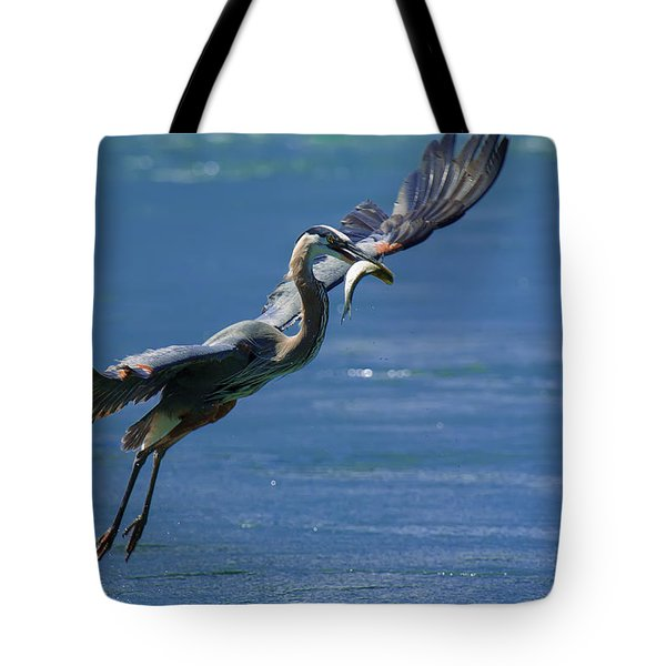Catch Of The Day Tote Bag by Sebastian Musial