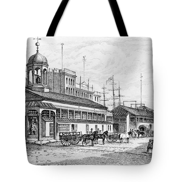 Catharine Market, 1850 Tote Bag by Granger