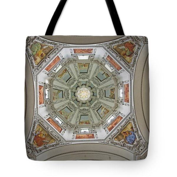 Cathedral Dome Interior, Close Up Tote Bag by Axiom Photographic