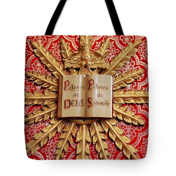 Catholic Church Decorations Tote Bag by Gaspar Avila